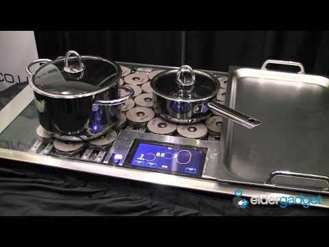 CES 2012 Video: Thermador Freedom Induction Cooktop