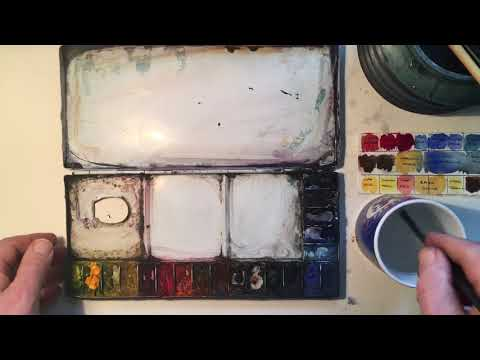 How to Bring Watercolour Paints Back From The Dead
