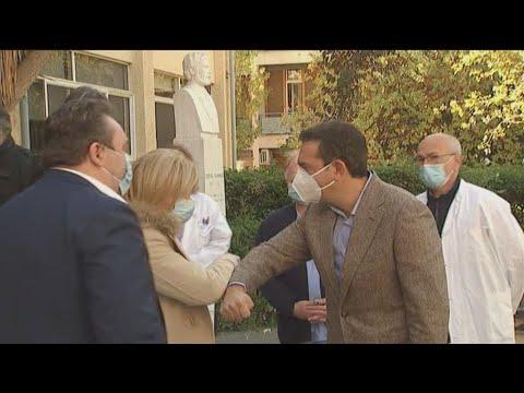 Επίσκεψη του Προέδρου του ΣΥΡΙΖΑ, Αλέξη Τσίπρα, στο Γενικό Νοσοκομείο Αθηνών «Γ. Γεννηματάς»