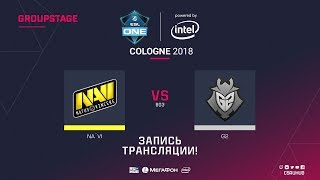 Na`Vi vs G2 - ESL One Cologne 2018 - de_inferno [ceh9, yXo]