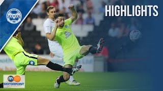 Highlights from the 2-0 win over MK Dons at Stadium MK. Watch the extended highlights over at http://www.theposhtv.com.