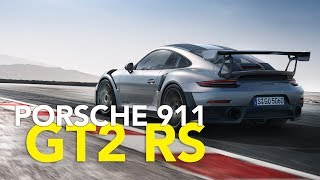 Porsche has finally taken the cover off of its new 991-based 911 GT2 RS.The highly anticipated car first appeared during the Microsoft Xbox E3 2017 press conference earlier this month, where we learned it will serve as the cover car for Forza Motorsport 7. But strangely, Porsche never really acknowledged that as a debut, keeping details about the car under wraps until today. It even went so far as to keep it under a cover at the Goodwood Festival of Speed prior to its debut – as if no one had seen or heard of it by now.As the fastest and most powerful street-legal 911 ever produced, the 2018 Porsche 911 GT2 RS produces 700 horsepower and 553 pound-feet of torque from a 3.8-liter twin-turbo flat-six engine and tips the scales at 3,241 pounds (1,470 kilograms) with a full tank of fuel. The result is a zero-to-60 mph time of 2.7 seconds, with a top speed of 211 mph (340 km/h). As previously reported, the powerplant is paired to a seven-speed PDK transmission.Subscribehttp://www.youtube.com/subscription_center?add_user=AutoGuideVideoYouTube - http://www.youtube.com/user/AutoguideVideoFacebook - http://facebook.com/AutoGuideTwitter - http://twitter.com/AutoGuideGoogle+ - http://goo.gl/LBxsPWeb - http://www.AutoGuide.comAutoGuide reviews the latest new cars with test drives, car comparisons and shootouts plus coverage of breaking auto industry news, auto shows, rumors and spy photos. Help shop for your new car with informative car buying tips and car recall news, and be entertained with feature stories, Top 10s and car review videos.