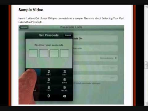 iPAD Instruction | How to Use iPAD | Discover iPAD's Tips & Tricks