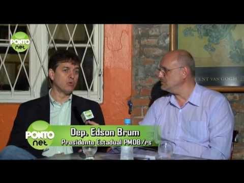 Ricardo Orlandini entrevista Edson Brum, deputado estadual e presidente do PMDB-RS