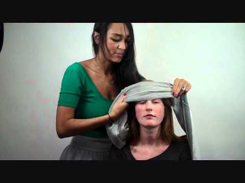 How to Tie a Scarf: Forehead Wrap
