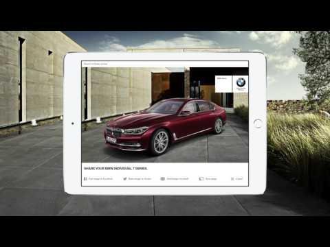BMW Individual 7 Series Augmented Reality App  - Case Movie by Effekt-Etage