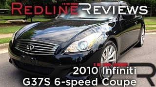 2010 Infiniti G37S 6-speed Coupe Review, Walkaround, Exhaust&Test Drive