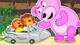 Video Lion Family Journey to the Center of the Earth 2 Cartoon for Kids MP3, 3GP, MP4, WEBM, AVI, FLV Januari 2019