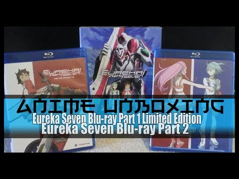 Anime Unboxing | Eureka Seven Blu-ray Part 1 & 2 Complete Series [Limited Edition]