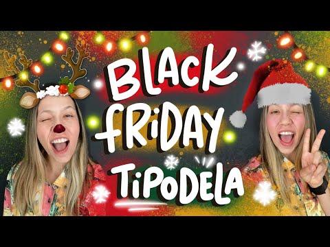 Black Friday Tipodela 1 - Lettering no cartão de natal | Karol Stefanini видео