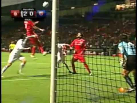 Gol de Osvaldo Gonzáles - Toluca vs Atlante.