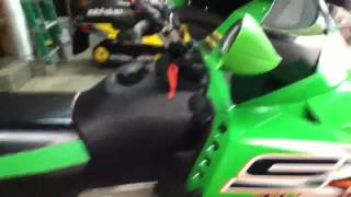 8. 2006 Arctic Cat ST 660 Turbo