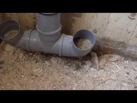 Кормушки для кур из канализационной трубы своими руками 54