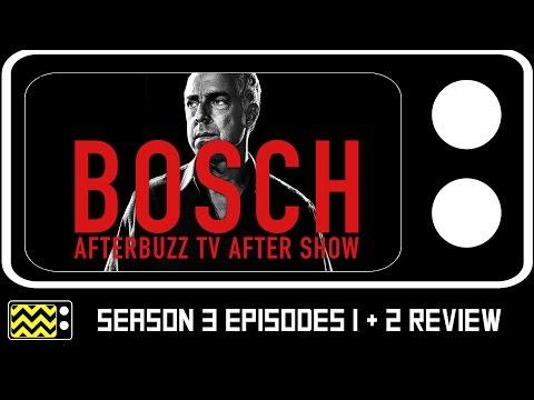 Bosch Season 3 Episodes 1 & 2 Review & After Show | AfterBuzz TV