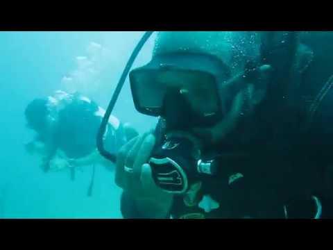 Diyamba Gala 26m - great visibility - scuba diving Negombo
