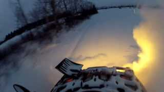 5. 2014 Can-Am Outlander 1000 XT on TJD tracks in deep pow!