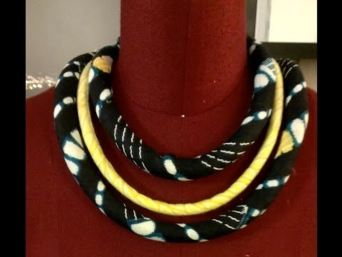 PART 1 FABRIC NECKLACE