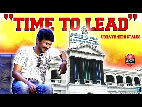 Is It Time To Lead? - Udhayanidhi Stalin | Movie Nights | Black Sheep