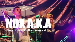 [HD] NDX A.K.A - Sayang (Live at UNY, October 2016) Video