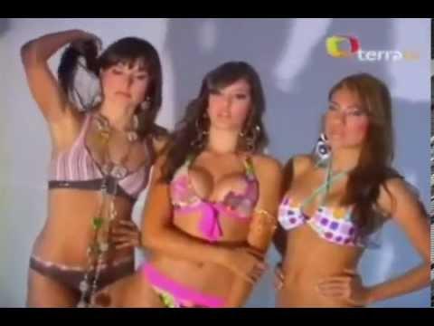 Modelos colombianas en bikini