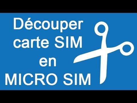 D couper carte sim en micro sim iphone samsung nokia - Couper sa sim en microsim ...