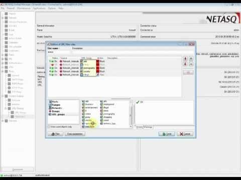 Blokowanie stron internetowych w urządzeniach NETASQ UTM