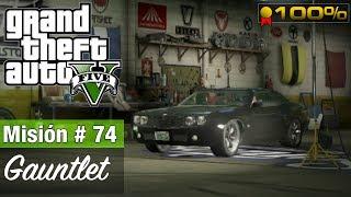 Grand Theft Auto 5 Misión 74  Gauntlet Medallas de Oro100