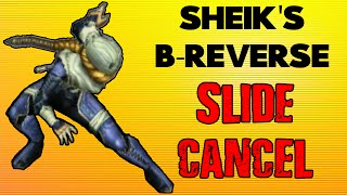 Does this sheik tech still work? I can't seem to make her slide using it.