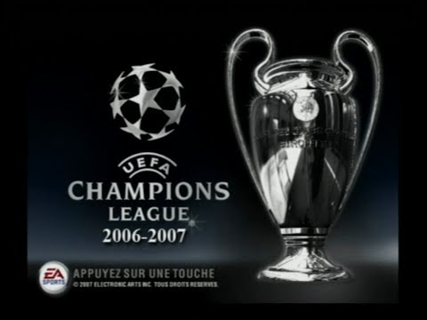 UEFA CHAMPIONS LEAGUE 2006 2007 / jeu Playstation 2 / PS 2 / PAL FRA