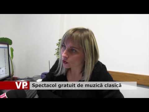 Spectacol gratuit de muzică clasică