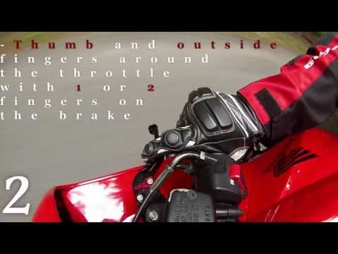 Quick Riding Tips- Blipping the throttle/ downshifting a motorcycle