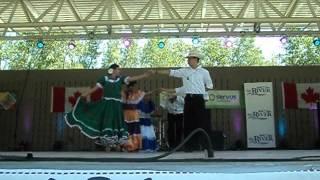 Carnaval De San Miguel... Folklore Salvadoreno...canada Day Red Deer.