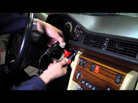 Mercedes Sticking Key and Steering Lock Problems on 1973 to 1995 Mercedes Benz