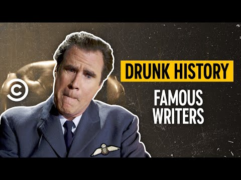The Fascinating Lives of Famous Writers (feat. Will Ferrell & Kirsten Dunst) - Drunk History