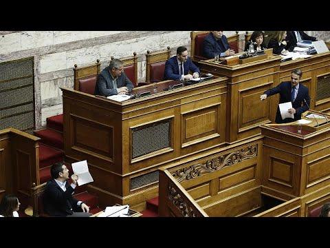 Άγρια κόντρα Τσίπρα – Μητσοτάκη για το Σκοπιανό με φόντο τις συντάξεις…
