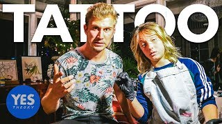 GETTING TATTOOED BY A 12-YEAR-OLD (Youngest Tattoo Artist in the World)