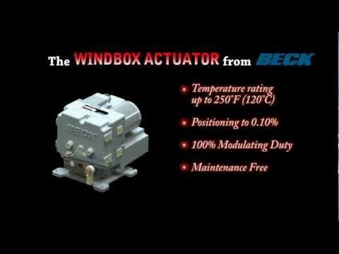 Group 75 - Windbox & Valve Actuator by Harold Beck & Sons, Inc.