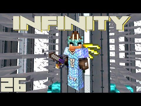 Minecraft Mods FTB Infinity – MULTI TURBINE SETUP [E26] (HermitCraft Modded Server)