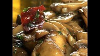 Funghi trifolati piccanti