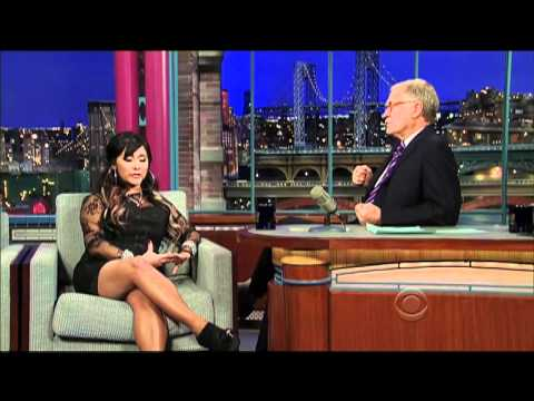 "CBS-David Letterman Asks Nicole ""Snooki"" Polizzi If She Has A Drinking Problem"