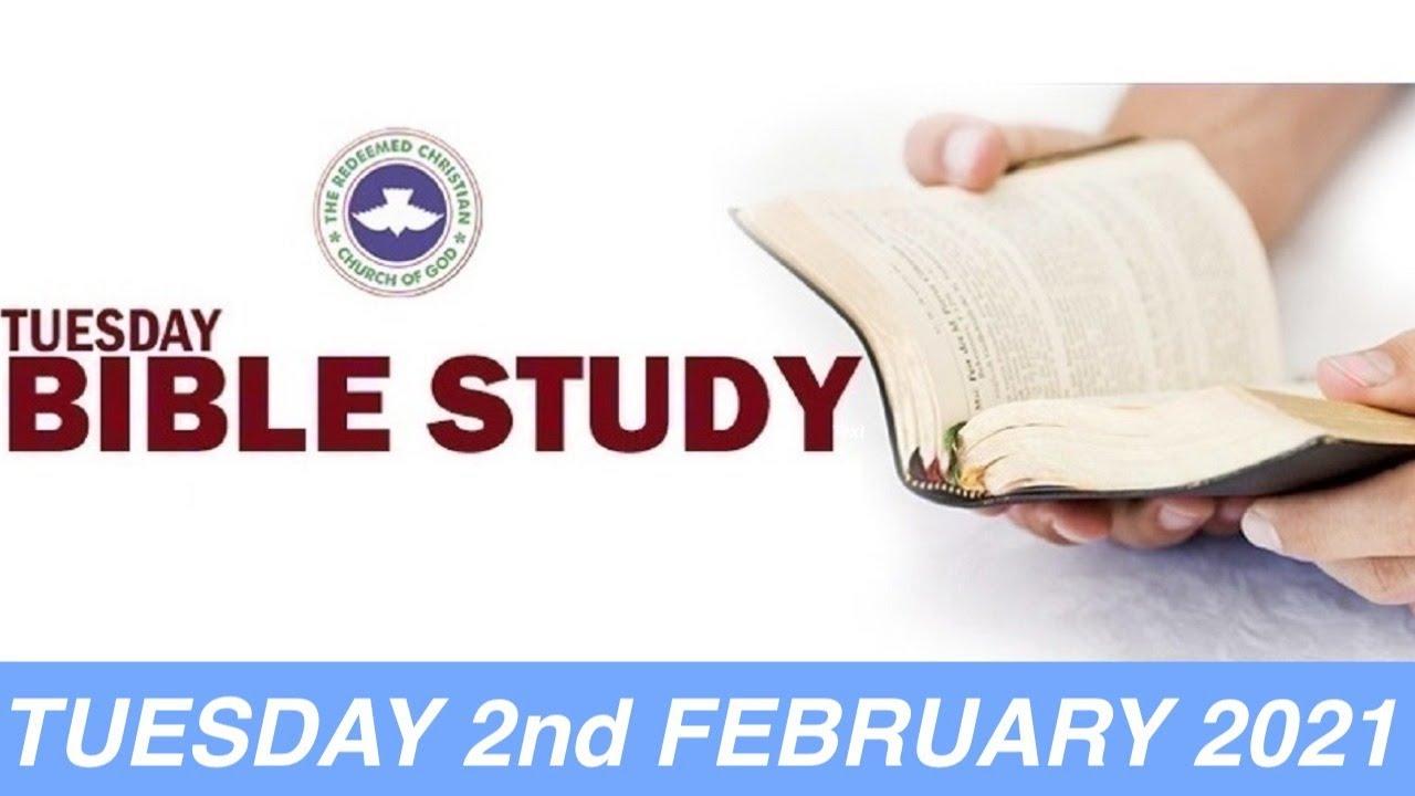 RCCG February 2nd 2021 Bible Study – Live