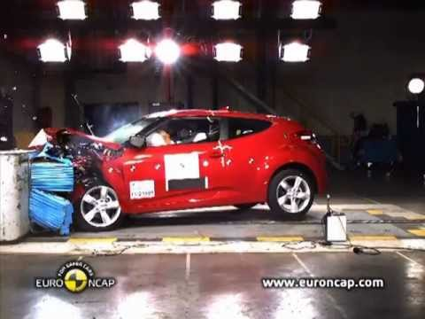 Hyundai  2012 Hyundai Veloster CRASH TEST