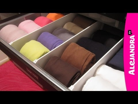 drawers - Watch My Private Organizing Videos Here - http://www.howtoorganize.tv/7-day-get-organized-video-course-yt/# My List of Favorite Organizing Products - http://...