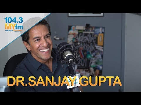 Dr.Sanjay Gupta Talks New TV Show 'Chasing Life', How Technology Effects Health, Flossing & More