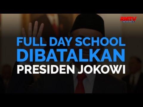 Full Day School Dibatalkan Presiden Jokowi