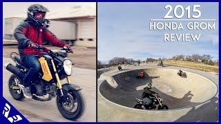 3. 2015 Honda Grom Review   Comparison with Honda Navi   Fooligan   RWR