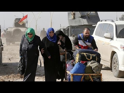 Ιράκ: Χιλιάδες άμαχοι εγκαταλείπουν τα σπίτια τους