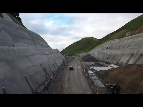 Transmission Gully motorway flythrough – November 2020