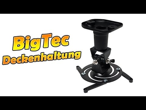 BigTec Beamer-Deckenhalterung BIG792 | MyWall, Sentivus | Unboxing und Review | HD 1080p Deutsch