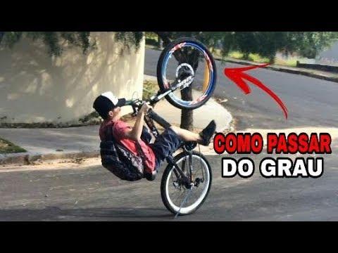 Como Dar Negativo No Grau De Bike/Passar Do Grau/Tombo Feio